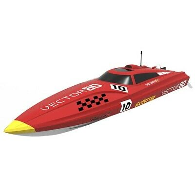 Volantex Vector 80 Brushless Boat Ready Set - Red