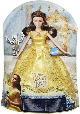 Bnib Beauty And The Beast Enchanting Melodies Belle Doll.