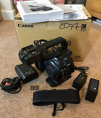 Canon EOS C100 Video Camera with DAF - 149 hours use.