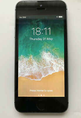 Apple iPhone 5s - 16GB - Space Grey (Vodafone) A (GSM)