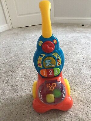 VTech Baby Counting Colours Vacuum Cleaner Hoover Kids Music