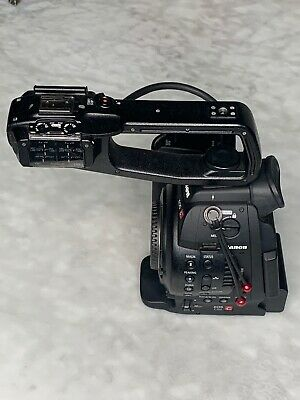 Canon C100 Camcorder DAF And Zacuto Eyepiece Battaeries And