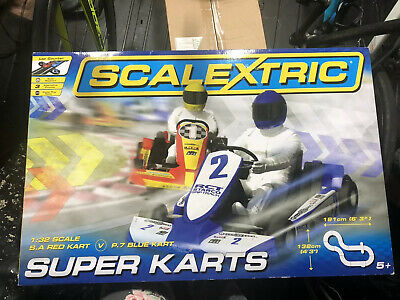 SCALEXTRIC C Scalextric Super Karts Set. New and