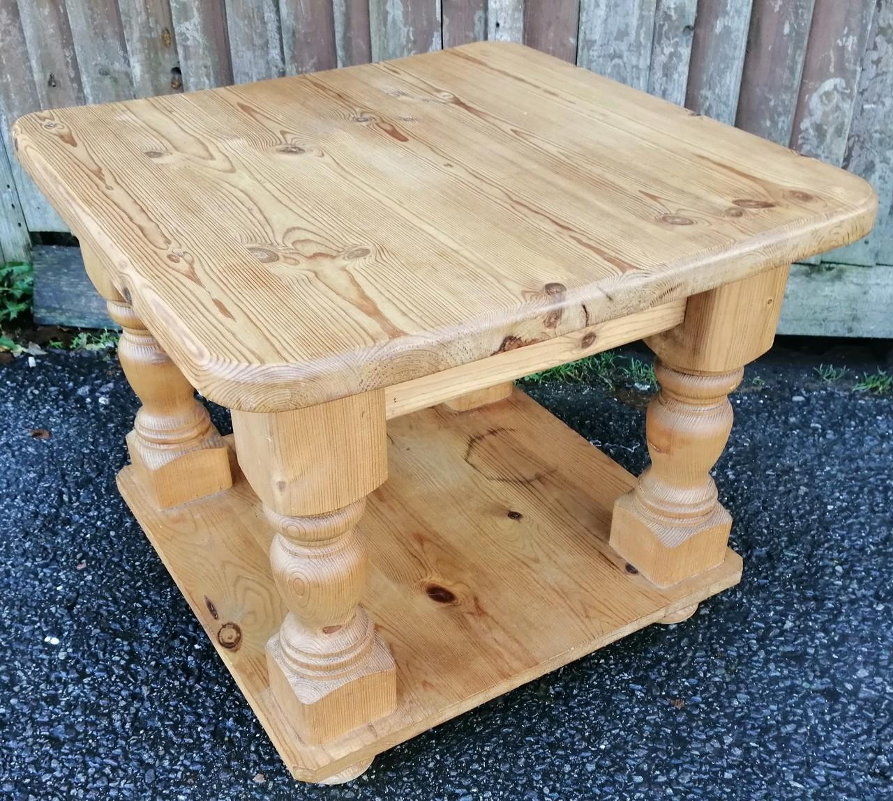 Solid Pine Coffee / Side Table