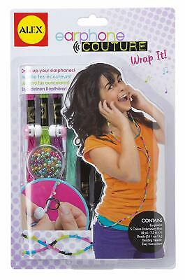 Earphones Couture Wrap It Quality Ear Buds iPod iPhone iPad