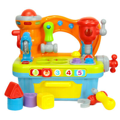 Musical Building Tools Workbench Toy,for Kids Construction