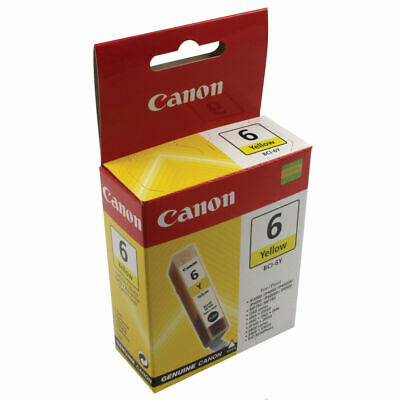 NEW! Canon BCI-6Y Yellow Inkjet Cartridge A002