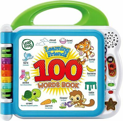 LeapFrog Learning Friends 100 Words Book By VTech- NEW &
