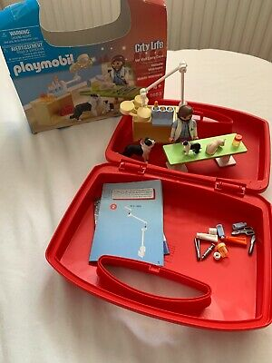 New Playmobil  City Life Collectable Small Vet Carry