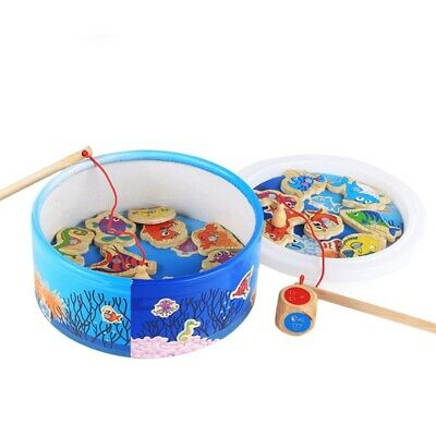 The Baby Puzzle Fishing Toy Magnetic Fishing Educational