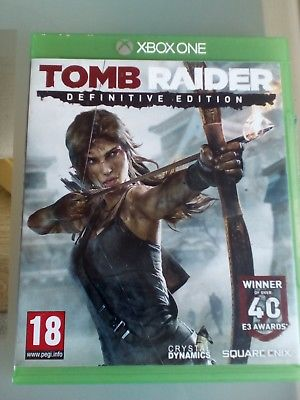 XBOX ONE TOMB RAIDER DEFINITIVE EDITION LARA CROFT VIDEO