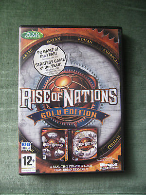 Rise of Nations (Gold Edition) (PC: Windows)