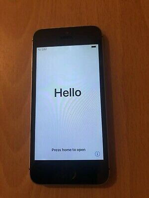 Apple iPhone SE 16gb Space Grey Locked To Vodafone (A)
