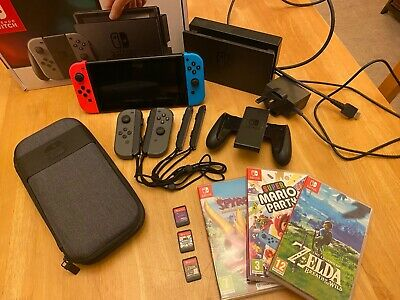 Nintendo Switch Bundle With Case **EXCELLENT CONDITION**