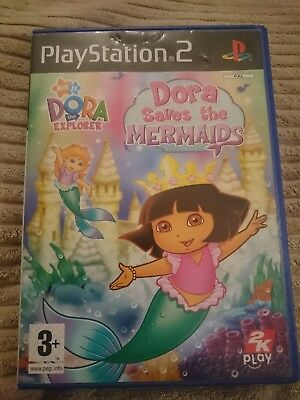 Dora the Explorer: Dora Saves the Mermaids (Sony PlayStation