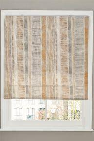 NEXT STRIPE ROMAN BLIND 120 X 120cm - New