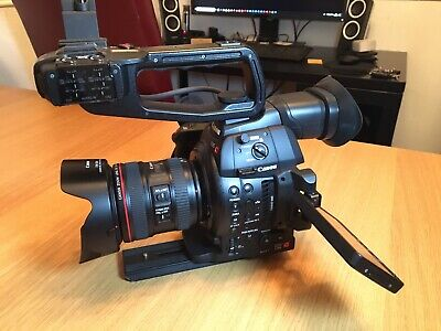 Canon C100 MK II Canon body only under 300 hours used