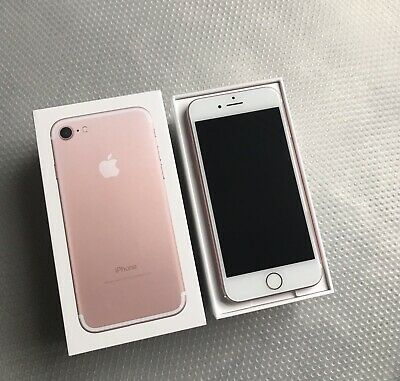APPLE IPHONE 7 ROSE GOLD UNLOCKED ALL NETWORKS CONDITION