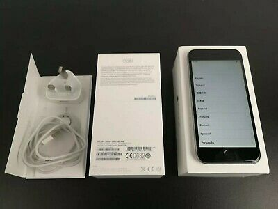 Apple iPhone 6 Space Grey 16GB (Unlocked) - Mint & Boxed