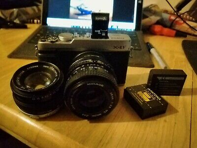 Fujifilm X Series X-E MP Digital Camera - body tatty.