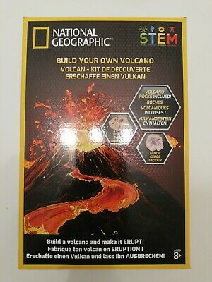 National Geographic Build Your Own Volcano [Arts & Crafts]