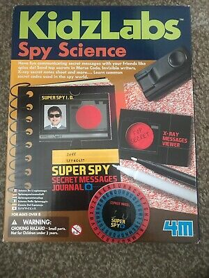 Spy Science Secret Message Kit - Children's Spy Morse Code &
