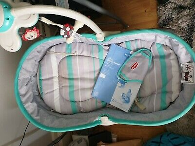 Tiny Love 3-in-1 Rocker Napper - Grey/turquoise Pristine
