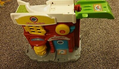 VTech Toot Toot Drivers - Fire Station + Track