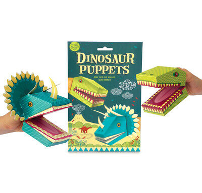 Clockwork Soldier Make Your Own Card Dinosaur Puppets Kit