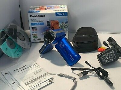 Panasonic HX-WA30 FULL HD WATERPROOF UNDERWATER Camcorder &