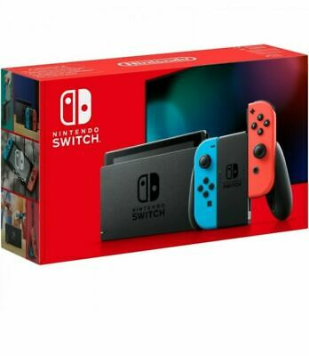 BNIB  Nintendo Switch Console with Neon Blue/Neon Red