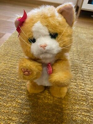 FurReal Friends Electronic Cat Toy - Daisy - Plays With Me