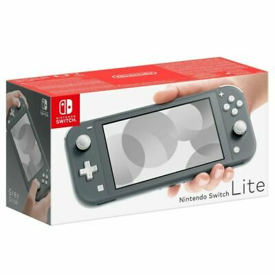 Nintendo Switch Lite Grey Handhled System boxed.