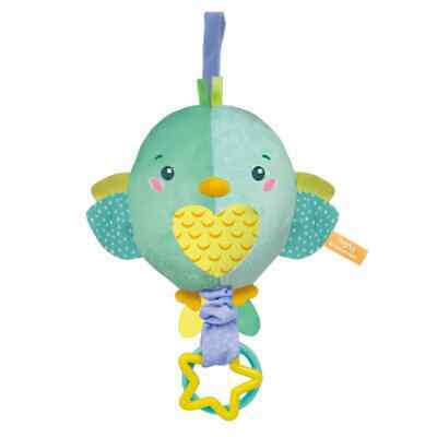 Clementoni Baby Musical Soft Toy Bird Including Melodies
