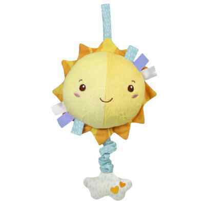 Clementoni Baby Musical Soft Toy Sun Including Melodies Kids