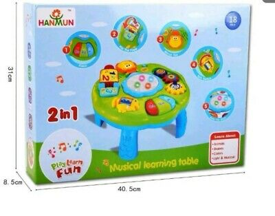 Musical Learning Table Baby Toy - HANMUN Play & Learn