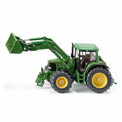 Siku Tractor with Front Loader John Deere 1:32 Toy Vehicle