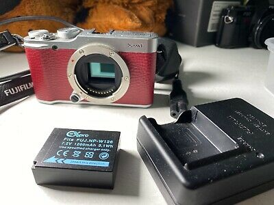 FujiFilm X series X-Amp Digital Camera - RED, body
