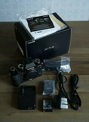 Fujifilm X series X-T2 - Black (Body Only) with spare