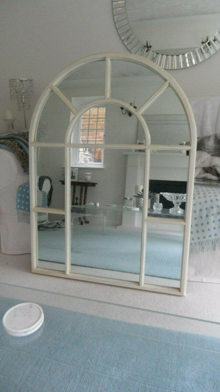Laura Ashley large arch frame mirror excellent condition.