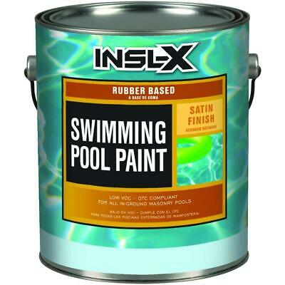 Swimming Pool Paint Satin Rubber Based Provides Decorative