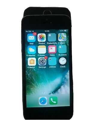 Apple iPhone 5s 16GB Space Grey O2 Network. Boxed, Very Good