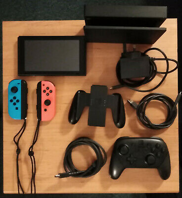 Nintendo Switch 32GB Console Neon Red and Neon Blue Joy-Con
