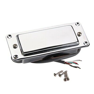 Chrome Silver Mini LP Guitar Humbucker Pickup Sealed Pick Up
