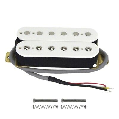 Electric Guitar Humbucker Pickups Neck Alnico V Pickup White