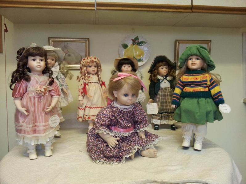 Limited Edition Porcelain dolls