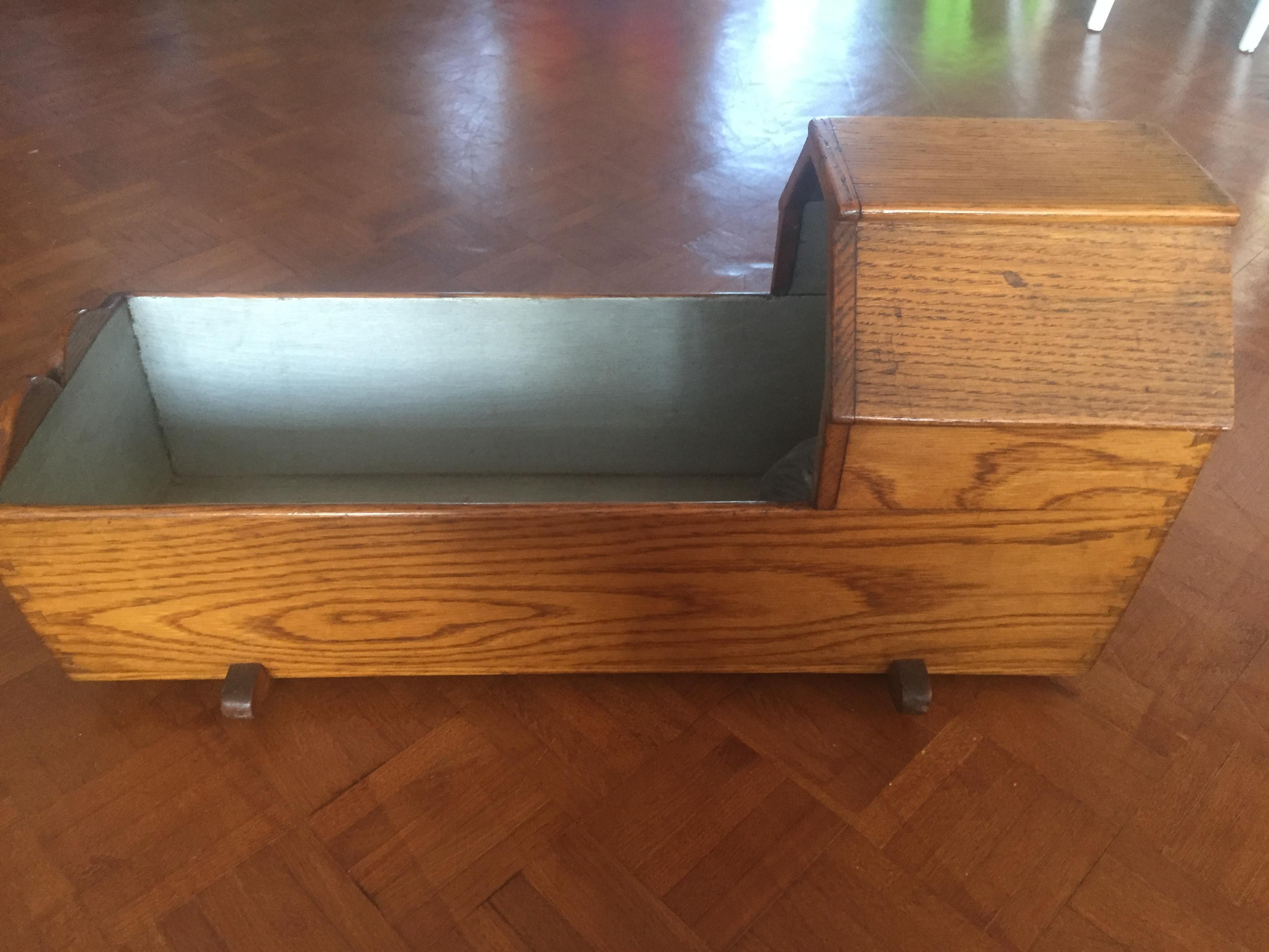 Doll's COT - handmade, no nails, 100 years old. Calls only