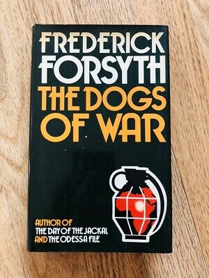 The Dogs Of War Book By Frederick Forsyth Dated  Rare
