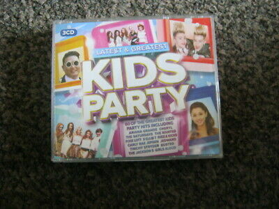 Various Artists - Latest & Greatest Kids Party - Various