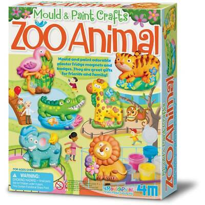 Mould & Paint - Zoo Animal - Mould and paint your own zoo